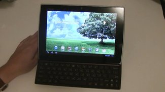 ASUS Eee Pad Slider: Unboxing &amp&#x3B; Hands-on des Honeycomb-Tablets mit Schiebetastatur