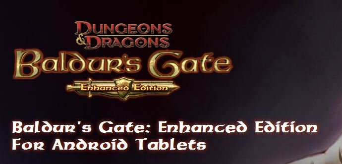Baldur's Gate: Enhanced Edition kommt auch aufs Android-OS