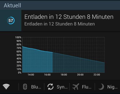 battery widget reborn notification