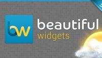 Beautiful Widgets 5: Update bringt neues Layout und Lockscreen-Widget