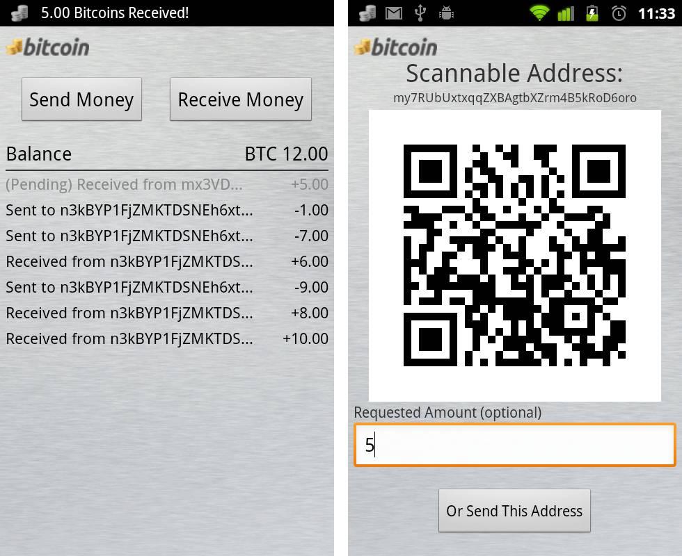 bitcoin android verificare bitcoin locală