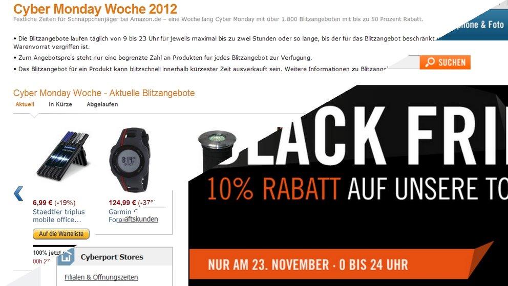 Black Friday: Super-Angebote für Technik-Fans bei Amazon &amp&#x3B; Cyberport [Deals]