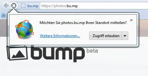 bump location permission