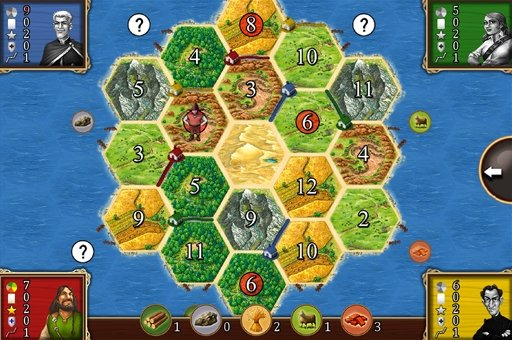 Settlers of Catan for Android: Exclusive facts and screens of the board game