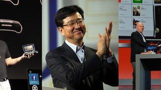 CES 2013-Keynotes: Samsung, Qualcomm und Nvidia als Komplett-Videos
