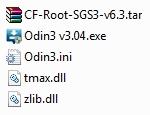 cf-root und odin verzeichnis