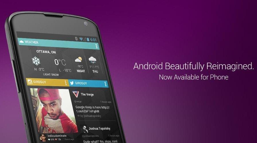 Chameleon Launcher: Smartphone-Version veröffentlicht