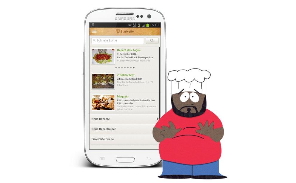Chefkoch.de Rezepte: Neue App für Hobbyköche im Test