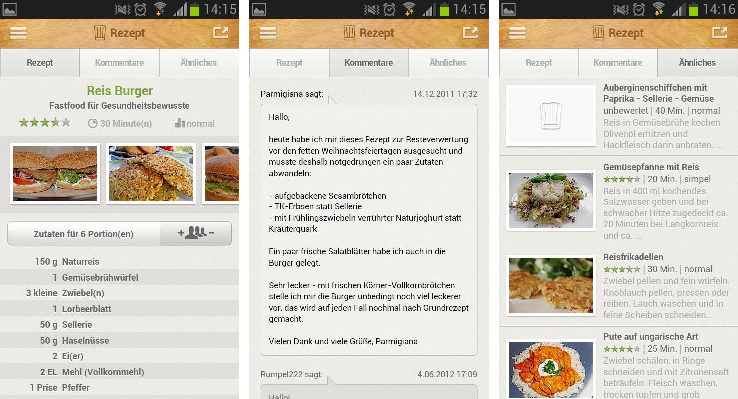 Chefkoch.de Rezepte: Neue App für Hobbyköche im Test – GIGA