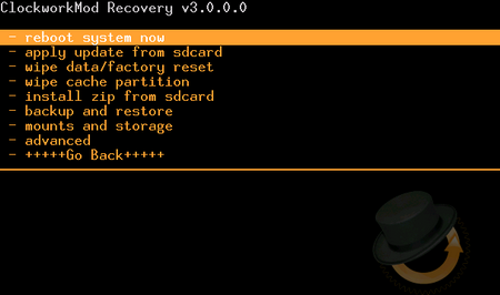 clockworkmod recovery 3.0