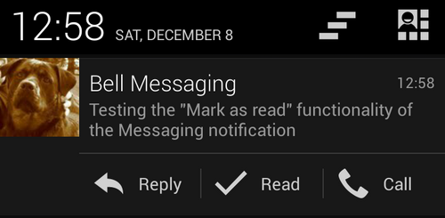 cyanogenmod mark sms read