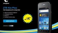 ZTE Kis Plus: Der passende Tarif zum günstigen 3,5-Zoller