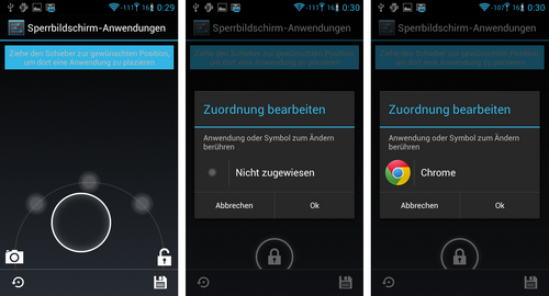 cyanogenmod lockscreen apps