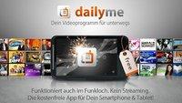 dailyme: Serien, Shows und Podcasts auf dem Smartphone schauen