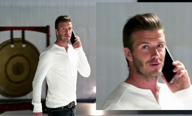 Samsung Galaxy Note: David Beckham präsentiert Olympia-Phablet