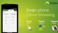 Dolphin Browser HD: In BlackBerry Appworld, ohne Wissen der Entwickler