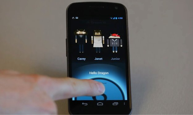 Nuance Dragon ID: Smartphone entsperren per Stimme