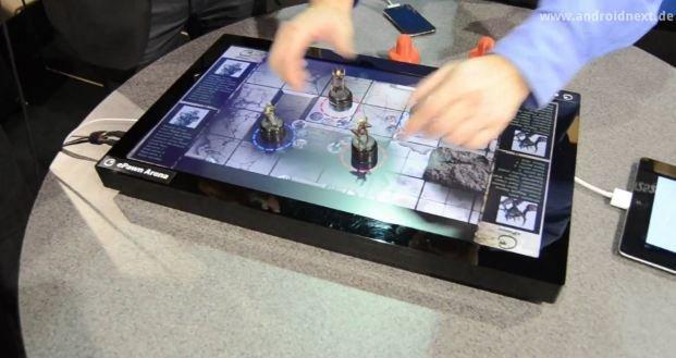 ePawn Arena: Digitales Spielbrett für den Anschluss von Smartphone und Tablet [CES 2012]