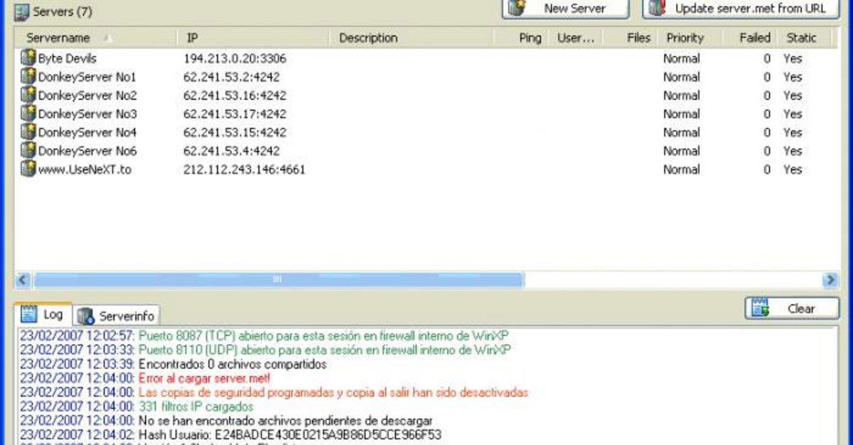 Serverliste Fur Emule Download Internet Explorer - teepigi