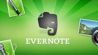 Evernote: Notiz-App erstrahlt in neuem Design