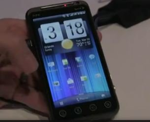 HTC EVO 3D Infos und Hands On-Video