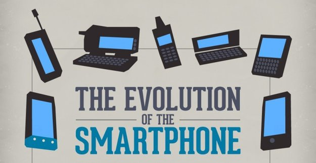 Infografik: Die Evolution des Smartphones