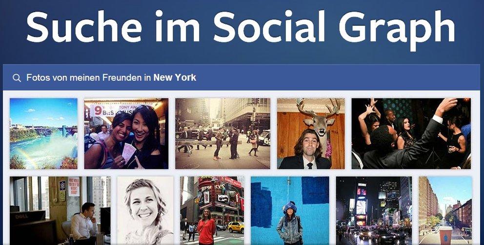 """Facebook: Erweiterte Suchfunktion """"Graph Search"""" vorgestellt"""