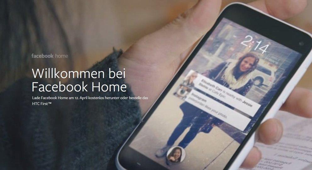 Facebook: App-Update bereitet auf Home vor, Chat Heads im Messenger [UPDATE: Facebook Home als APK]