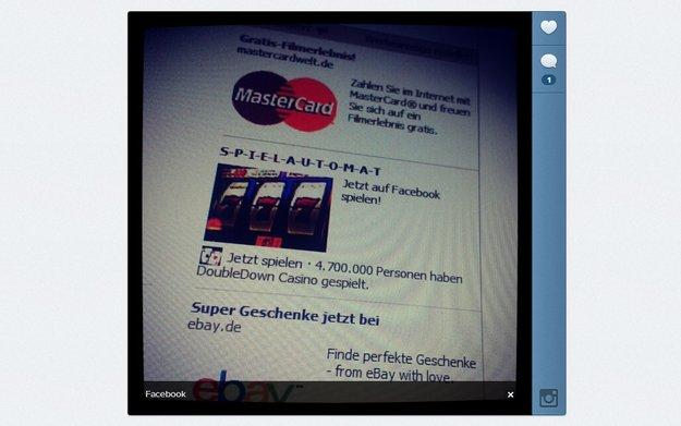 Instagram: Facebook will Foto-App monetarisieren