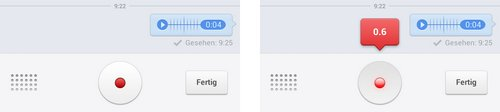 facebook messenger record audio