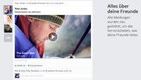 Facebook: Neues Newsfeed-Layout für Web und Mobile vorgestellt