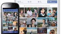 Facebook für Android: Cloud-Upload für Fotos in der Testphase
