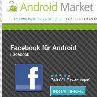 Facebook-App: Update auf Version 1.5.4 behebt Bugs
