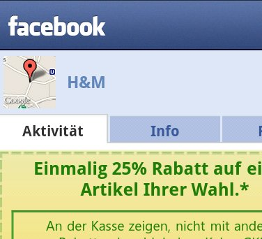 Facebook Deals: Per Android-App auch in Deutschland [Update]