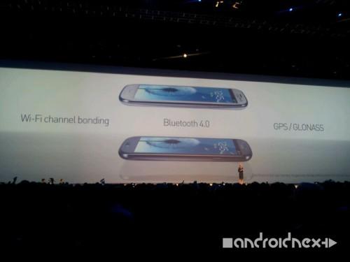 Samsung Galax S3: Konnektivität