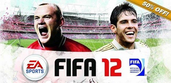FIFA 12: Fußball-Game für Android derzeit zum halben Preis