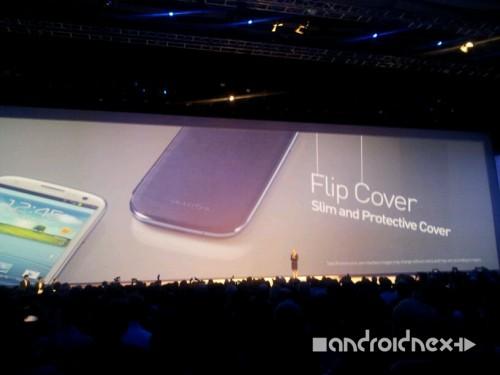 Samsung Galaxy S3 Zubehör: flip Cover