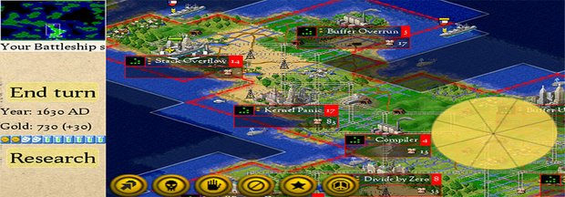 FreeCiv: Kostenloses Strategiespiel (Download)