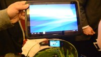 Fujitsu Arrows ES IS12F & Tab F-01D: Dive-in zu wasserdichtem Smartphone und Tablet [CES 2012]