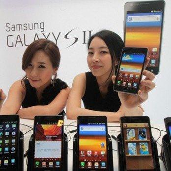 Samsung Galaxy S2: 5 Millionen Geräte verkauft -- Tendenz steigend