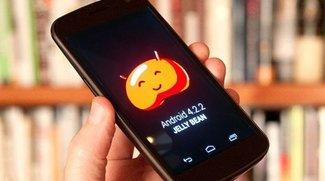 Android 4.2.2-Update: Rollout für Nexus 4 &amp&#x3B; Nexus 7 3G, auch bei uns