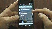 "Galaxy Nexus und Android 4.0 ""Ice Cream Sandwich"": 30 Minuten Videomaterial aus Italien"