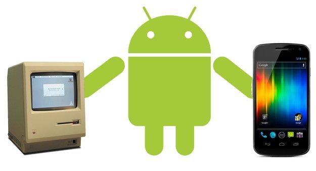 Galaxy Nexus: Massenspeichermodus aktivieren, Dateien am Mac übertragen [HowTo]