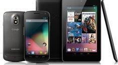 Android 4.1.1: Jelly Bean rollt für Galaxy Nexus & Nexus 7 aus
