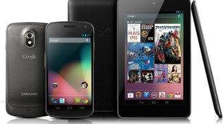 Android 4.1.1: Jelly Bean rollt für Galaxy Nexus &amp&#x3B; Nexus 7 aus