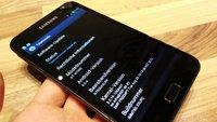 Samsung Galaxy Note: Update bring Firmware XXLRQ und Nature UX Oberfläche