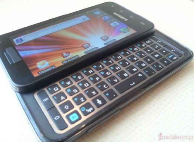 Für Tastatur-Freaks: Dual-Core-Androide Samsung Galaxy Glide