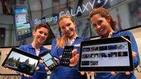 Apple vs. Samsung: Cupertino klagt gegen 15 Geräte