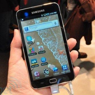 Samsung Galaxy S WiFi 4.0 und 5.0: Hands-On Video [MWC 2011]