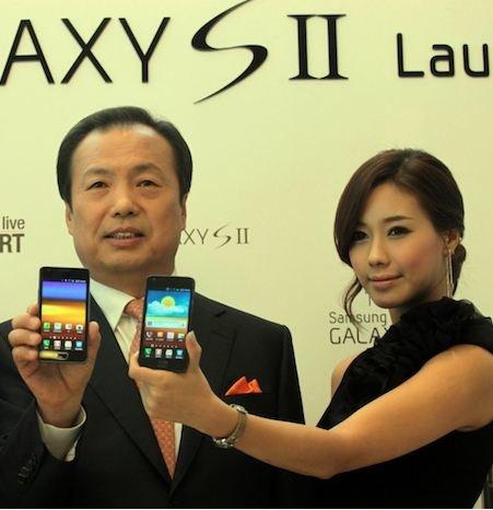 Samsung Galaxy S2: 1 Million Geräte in Südkorea verkauft